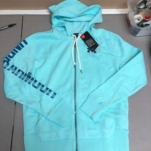 Womens under armour favorite fleece zip hoodie